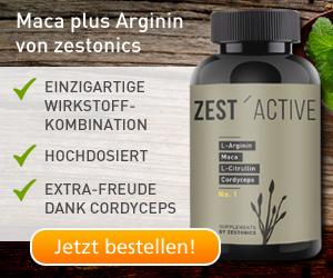 Arginin und Maca mit Citrullin und Cordyceps - von zestonics
