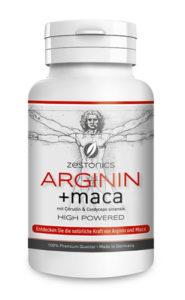 Arginin + Maca von zestonics