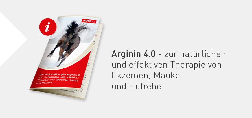 Arginin 4.0 zur natürlichen und effektiven Therapie von Ekzemen, Mauke und Hufrehe