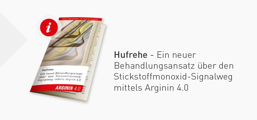 Hufrehe - Ein neuer Behandlungsansatz über den Stickstoffmonoxid- Signalweg mittels Arginin 4.0
